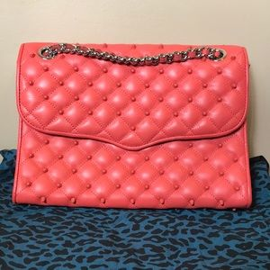 Rebecca Minkoff Studded Quilted Bag